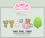 Pixel - Surprise Party Tube Pack by firstfear