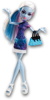 Monster High Doll Clipart: Scaris Abbey Bominable by MHProGal