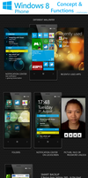Windows Phone 8 Concept by chiefwrigley