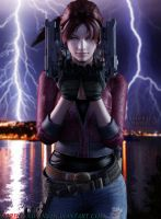 Claire-Redfield by NourhanNivans