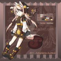 Adoptable Auction #01 [CLOSED] by SandraGH