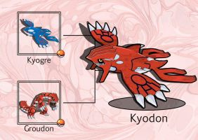PokeFusion: Kyodon by JT-PokeKa