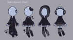 [outfit set] - cthonicsquid [3] by hello-planet-chan