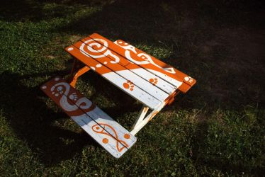 Beer Bench for Kids by JudLorin