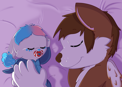 Peaceful slumber YCH: Avatarsong by tailslover42