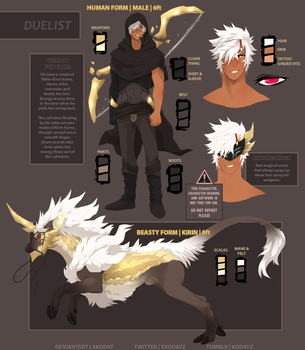 Duelist Ref by xKoday