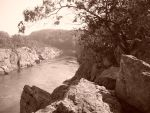 Sepia Cliffs by jester81