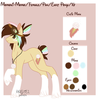 Momo's Reference Sheet by PixelPopGaming