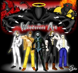 Commission:The Wanderers Ark Cast for Quel2many by Shin--chan
