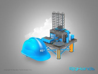 Oil Rig - Homepage Art Work by zaib