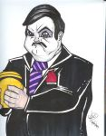 Paul Bearer by emceelokey