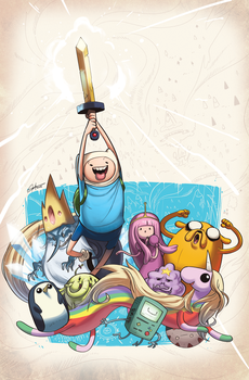 Adventure Time #10 Cover by tysonhesse