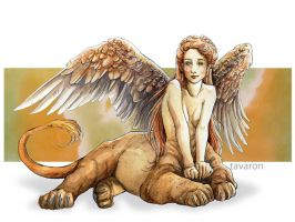 sphinx by tavaron