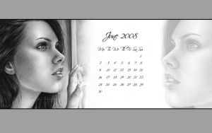 June 08 calendar by Zindy