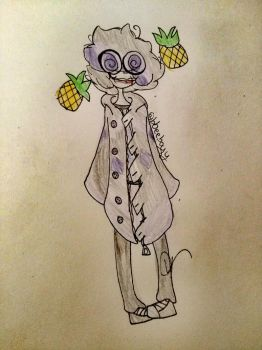 Pineapples are in my head by LiamBlueRose13