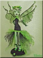 Electra-Custom MH Frankie Gothic Diva Fairy#2 by KrisKreations