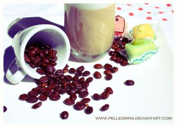 have a break, have a coffee by pellegrina