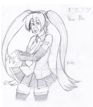 Miku Hatsune by PiefaceMcGee