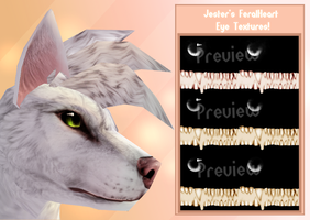 FeralHeart | Eye Texture Pack by TheJokingJester