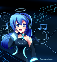 Luminee Blue by Incinerater