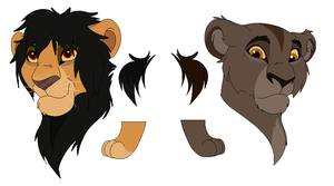 Lioness Adopts by Nyrexis
