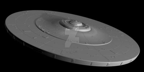 USS Kelvin work in progress by trekmodeler