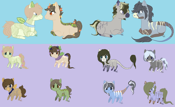 Breed Results for EventidePonies by DoodleBug-Adoptable
