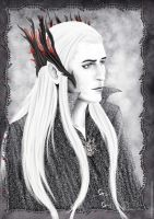 The Elvenking by FadingCrow