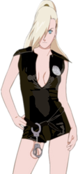Sexy Police Woman Ino by Dead-Jilly
