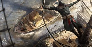 Assassin's Creed: Syndicate Boat Raid by daRoz