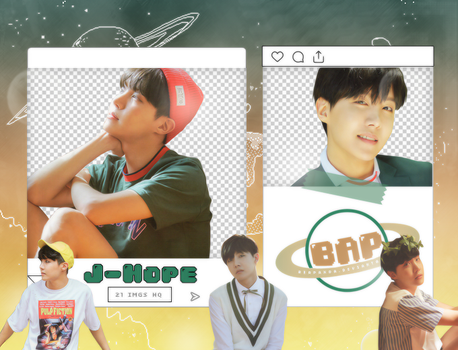 Pack Png 1427 // J-Hope (BTS) (NOW 3 Chicago) by BEAPANDA