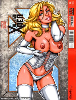 Naughty White Queen vertical sketch cover by gb2k