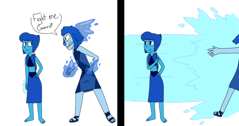 Lapis vs Lapis by HappyBuddyy