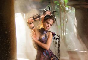 Demoness Lior by jl-modelstock David version2 by FueledbypartII