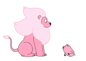 Lion and Waddles by MariusWales