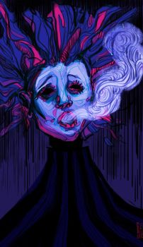 The First Lie : The Smoke by grafffite