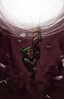 LOZ SS: CLIMB LINK CLIMB by fruits-basket-head