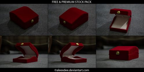Red Gift Box *STOCK* by aleexdee
