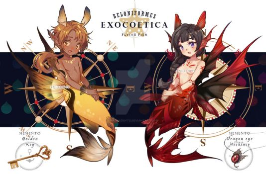 [A] Exocoetica  01 02 CLOSED by kpj11adopts