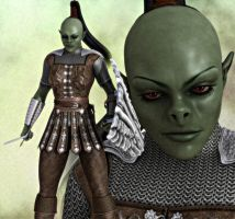 Shamar: The Orc Warrior by Knight22179