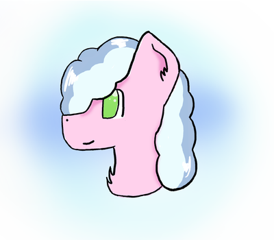Cloud headshot by A-Tuft-of-Cloud