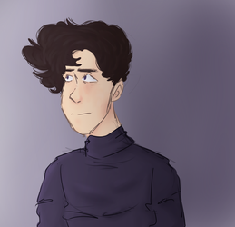i tried to do digital painting and failed :( by DoodlyDoodlerDoo