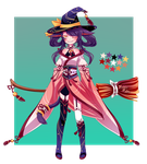 Oriental Witch Adopt Auction (CLOSED) by Jinhii