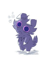 Espurr doodle by Cabycab
