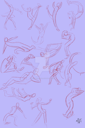 Gestures Practice May 7 by TenshiHoshino