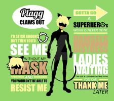 Cat Noir Quotes by Slothgirlart