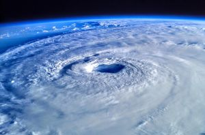 Eye of the Storm From Space by ROGUE-RATTLESNAKE