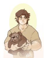 Brent and Puff by MegSyv