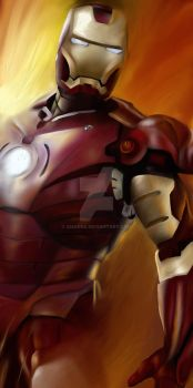 Iron Man - Iron and Fire by Amarra