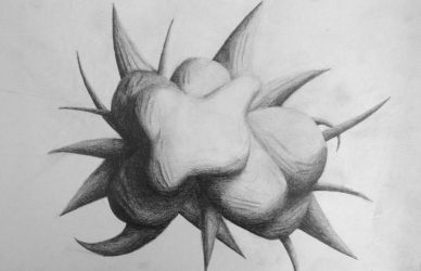 Abstract Pencil Art by xerix93